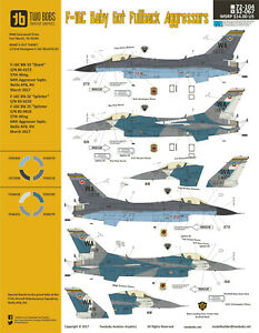 NEW-1-32-Two-Bobs-Decals-32067-F-16C-Fighting-Falcon-039-Baby-Got-Fullback-039