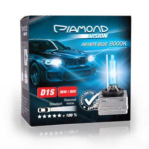 2X-D1S-8000K-35W-85V-HID-Xenon-Brenner-Abblendlicht-Fernlicht-Lampe