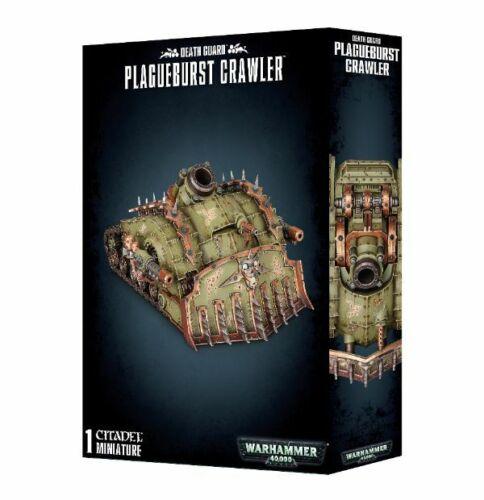 Death Guard plagueburst Crawler Games Workshop Warhammer 40.000 8th 43-52 SERBATOIO