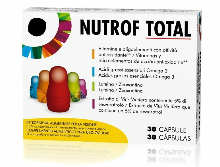 Nutrof capsules Total 30.60.90.120 capsules Nutrof NUTROF TOTAL LUTEINA c3770d