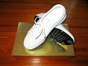 NEW-NIKE-AIR-ZOOM-Victoire-Tour-Chaussures-De-Golf-Blanc-Taille-10-1-2-Pro-Shop-180