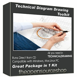 Technical-Drawing-Software-Kit-Draw-Professional-Level-Diagrams-amp-Flow-Charts