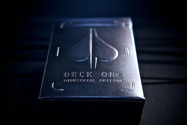 Deck ONE - Industrial Edition Playing Cards by Theory11 New Free Shipping
