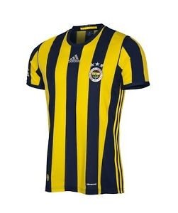 Details zu adidas Fenerbahce Istanbul Home Trikot Süper Lig Heimtrikot 201617 gelb BD6909