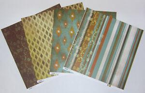 8-Kaisercraft-Double-Sided-Jade-039-s-Garden-Scrapbooking-Paper-12-034-x12-034-Card-Making