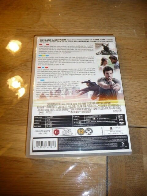 Tracers, DVD, action