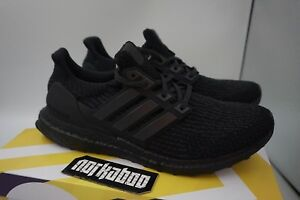 6f06d5564 Adidas Ultra Boost 3.0 Triple Matte Black 2.0 CG3038 running limited ...