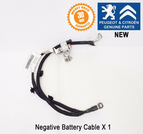 Peugeot 208 2008 301 Negative Battery Cable Genuine 9813830280 New