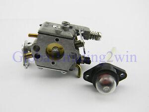 new carburetor for poulan 1950 2050 2150 2375 wt 891 545081885image is loading new carburetor for poulan 1950 2050 2150 2375