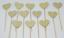 12-Paillettes-Coeur-Cupcake-Toppers-Parti-Decoration-cup-cake-topper-Food-drapeaux miniature 17