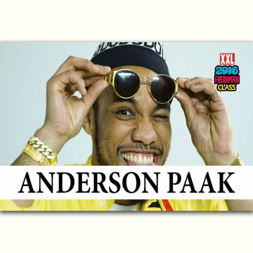 59821 Anderson Paak Freshman Rapper Music Star Decor Wall Print POSTER