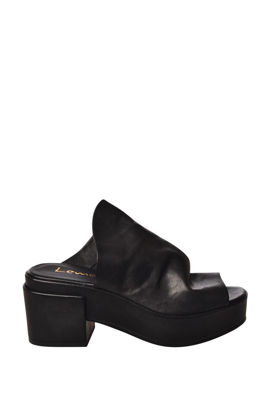 Lemarè - shoes-Sandals - Woman - Black - 5266420D183615