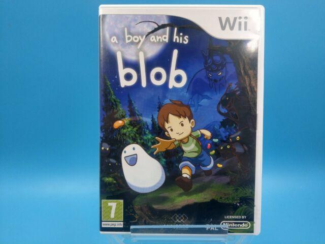 jeu video nintendo wii U complet PAL UK TBE a boy and his blob