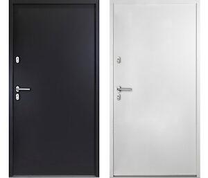 Wohnungstüren weiß  Aluminium KELLERTÜR Hannes weiß / anthrazitgrau Haustür ...