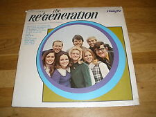 Derric Johnson the re'generation Spurrlow Ministries LP Record - Sealed