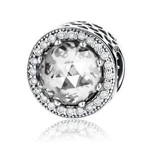 European-925-Sterling-Silver-Crystal-amp-CZ-Charm-Pendant-Bead-Fits-Bracelet-Chain