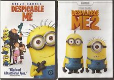 Brand New Despicable Me 1 and Despicable Me 2 on DVD SEALED Ships Today