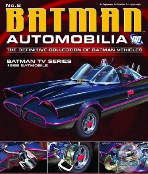 Dc Batman Automobilia Figurine #2 1966 Batman Tv Series Eaglemoss