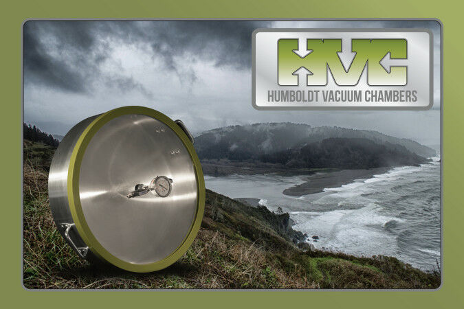 LARGE Vacuum Chamber Portable Affordable MADE BY HUMBOLDT VACUUM CHAMBERS