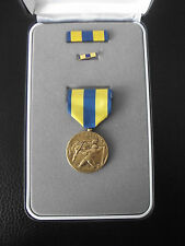 (a19-060) US Orden Navy Expeditionary Medal nell'astuccio