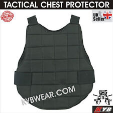 Tactical Airsoft Paintball Chest Protector Foam Padded Body Armour Protection UK