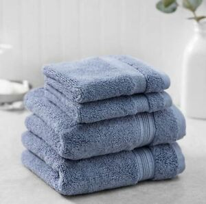 Charisma-Soft-100-Hygro-Cotton-4-piece-Hand-amp-Washcloth-Towel-Set-Machine-wash