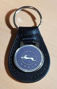 Chevrolet-Impala-Schlusselanhanger-Logo-Leder-Mase-Emblem-30mm