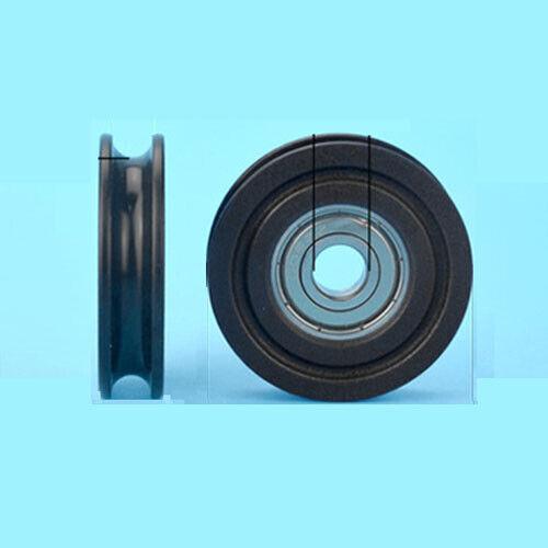 28mmx6mmx6mm Ball Bearing Wheel Sliding Door Pulley Roller 5pcs