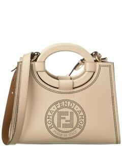Fendi-Runaway-Ff-Small-Leather-Tote-Women-039-s