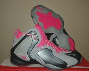 14293be2206a New Nike Lil  Penny Posite Foamposite One 1 Grey Hyper Pink ...