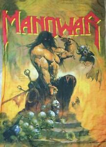 105-75-Extra-Large-Manowar-MANOHARA-Cloth-Poster-Flag-Part-3-Legend-Limited-JPN
