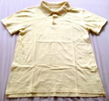 ♥ Tweed River Yellow Polo T-Shirt S