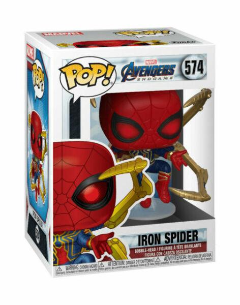 Spider-man Iron Spider with Nano Gauntlet Pop Funko Vinyl Figure n° 574