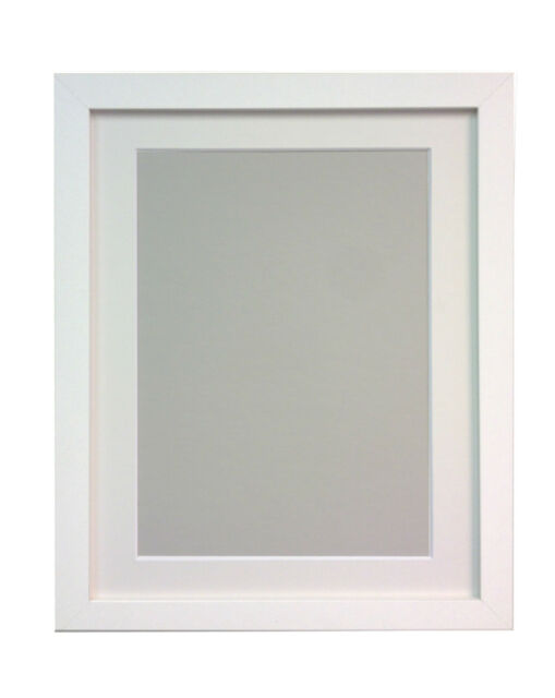Frames by Post 25 Mm Wide H7 Picture Photo Frame With White Mount 20 ...