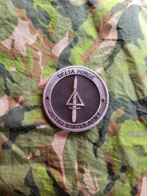 Call of Duty COD U.S.ARMY DELTE FORCE Tactical Morale PVC Patch Large