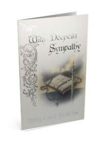 Details About Catholic Deepest Sympathy Card With Cardinal Newman Message Beautiful Imagery