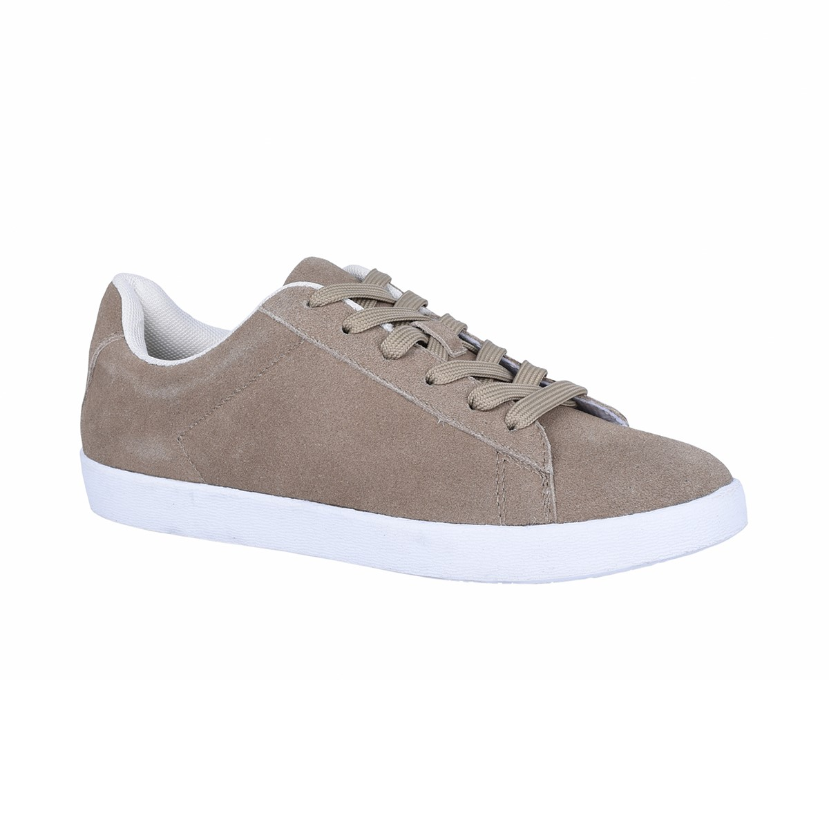 Femmes Natural Comfort Josie Beige Suede blanc Casual Laces Comfortable chaussures