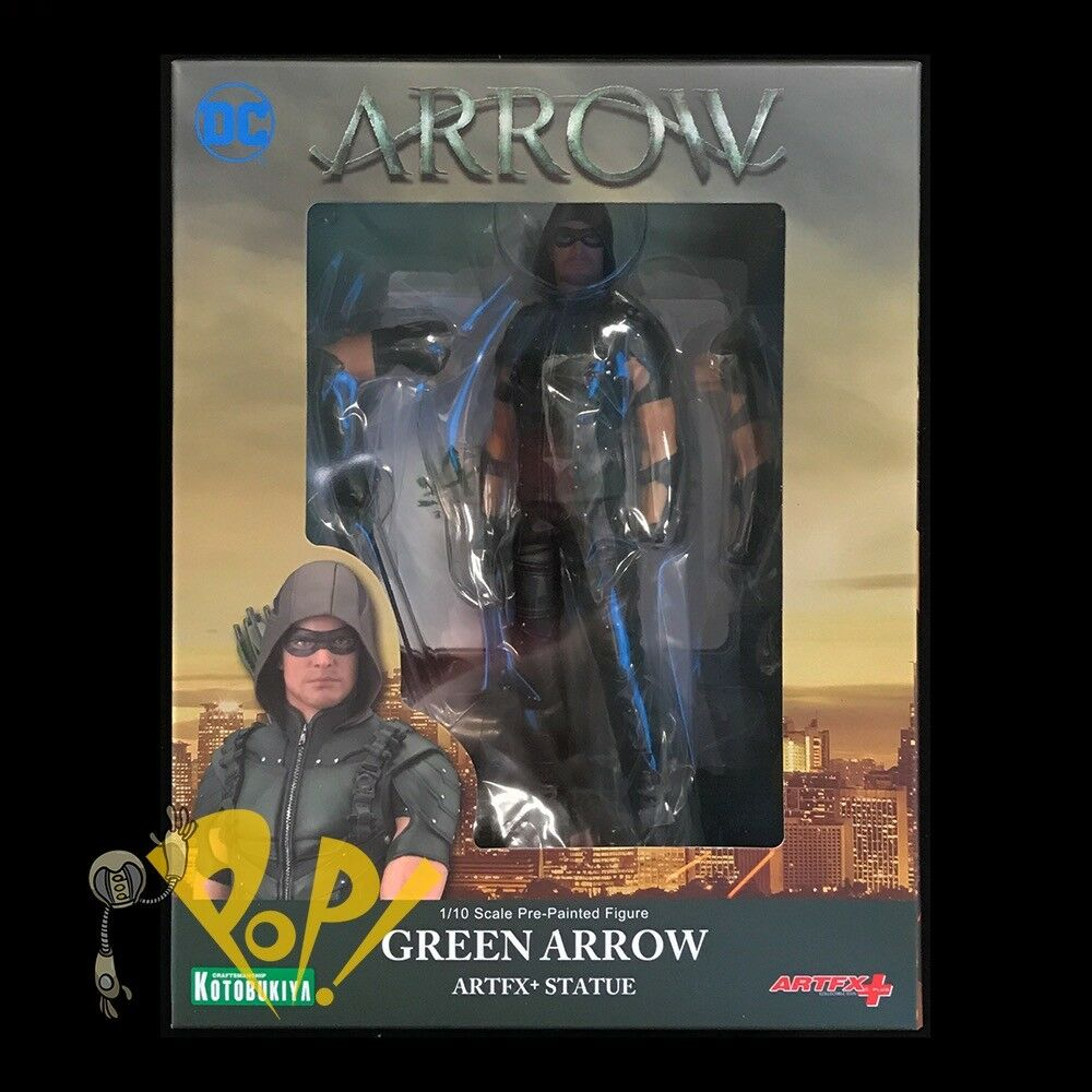 Pfeil tv - show Grün arrow artfx + 1   10 scale - bild kotobukiya dc comics.