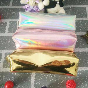 Hologram-Holographic-Laser-Bag-Makeup-Bag-Pencil-Case-Card-Holder-Handbag-Wallet
