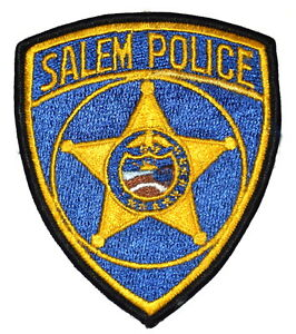Salem Oregon Or Sheriff Police Patch State Seal Gold Star 4 Ebay
