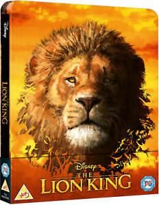 Disney-El-Rey-Leon-3-D-2-D-Blu-ray-Steelbook-2019-por-pedido-ahora-region-libre
