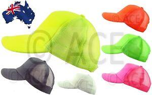 Mens-Womens-Neon-Fluro-Fluorescent-Snapback-Party-Dance-Street-Baseball-Hat-Cap
