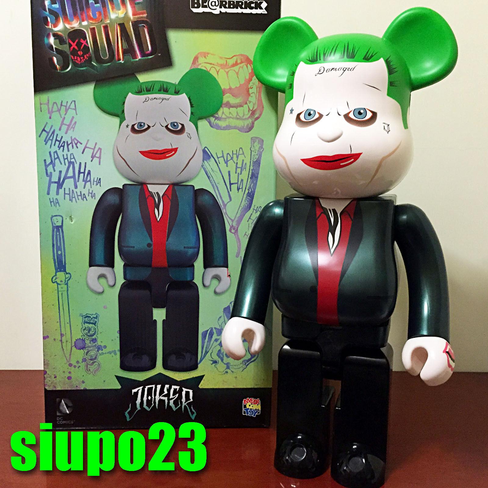 Medicom 1000% orsoBRICK  il Joker Be@rbrick SQUADRA SUICIDA