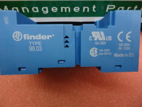 90.03 Finder 90.03SMA 86 SERIES Brand New! SOCKET
