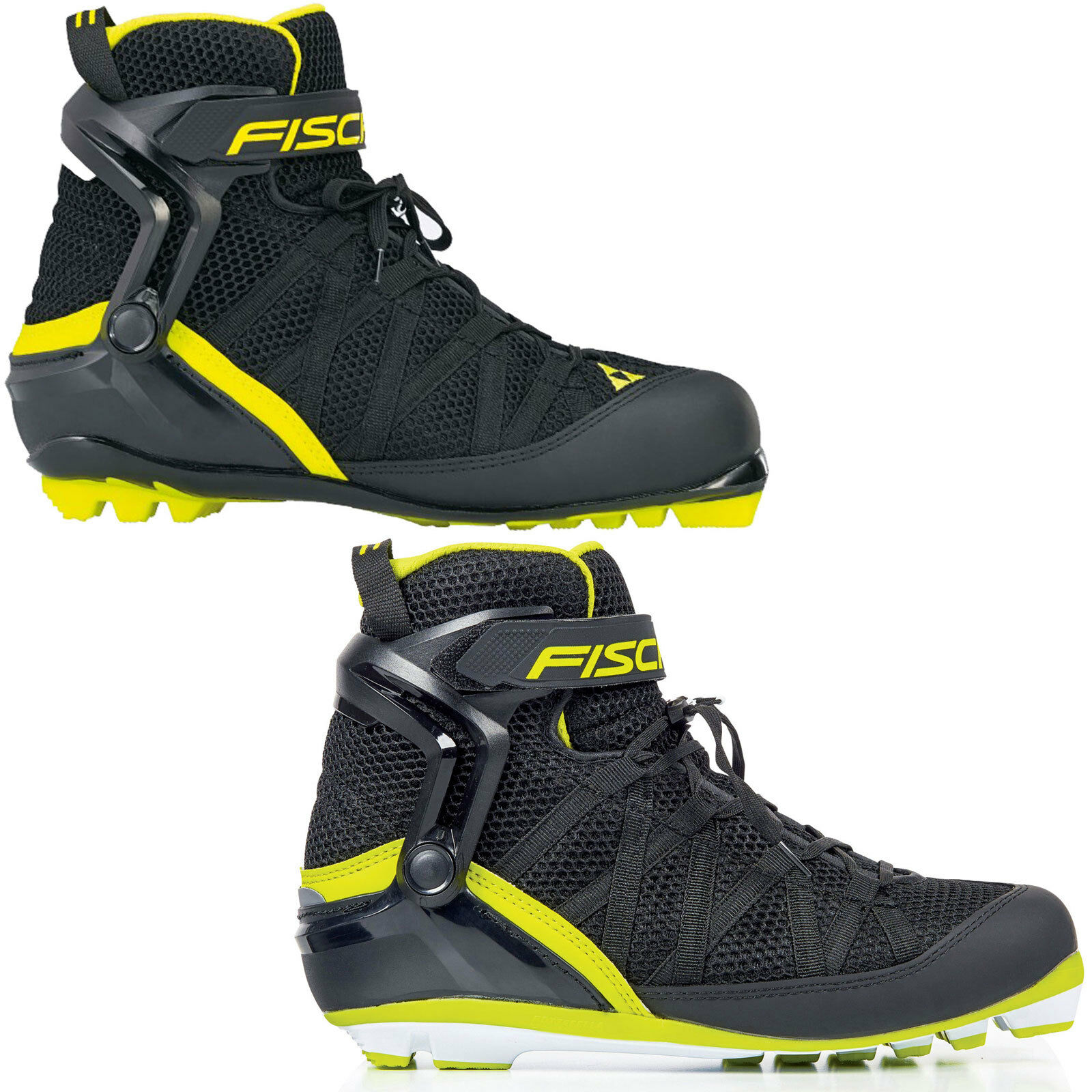 Fischer RC Scooter Combi Roller Ski-boots Ski  Scooter Boots Unisex S  Classic  credit guarantee