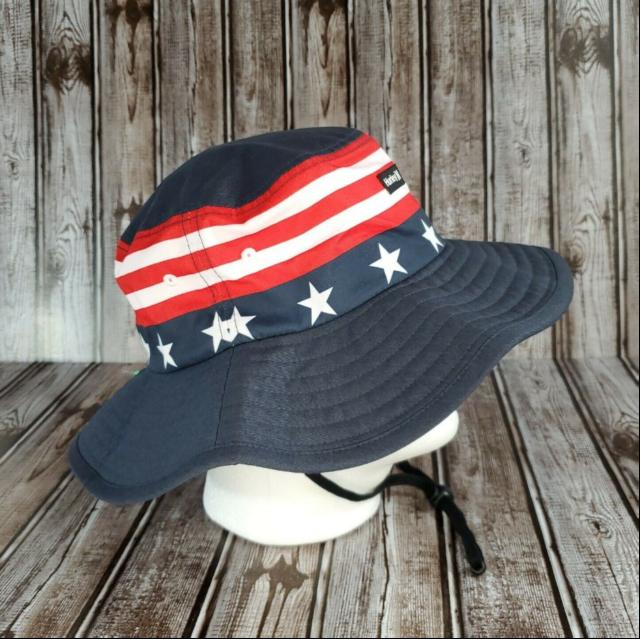 Hurley Mens Vagabond Patriot Bucket Sun Hat