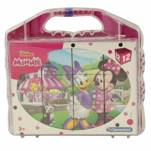 Würfelpuzzle im Koffer Clementoni 41184 Disney Minnie Mouse