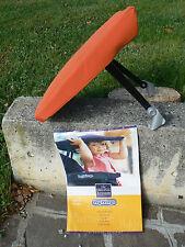NUOVO Peg Perego tettuccio parasole per passeggini colore arancione