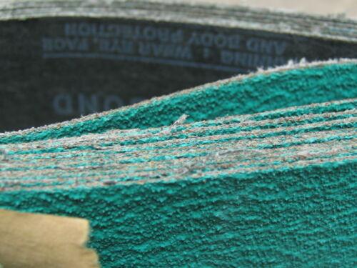 """TEN  2/"""" X 60/"""" Sanding Belts ZIRCONIA 60 Grit"""