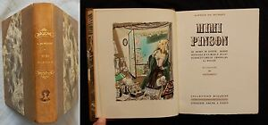 P-MIMI-PINSON-A-Musset-Illustre-DIGNIMONT-Collection-Mazarine-1941-1-250-ex